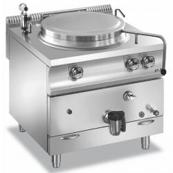 MBM - Marmite ronde 100 litres gaz avec chauffe indirecte