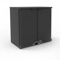 Coreco - Arrière-bar positif H.850 2 portes pleines battantes