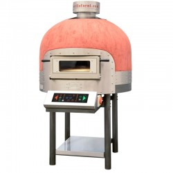 Morello Forni - FOUR ROTATIF électrique 6 pizzas finition coupole base