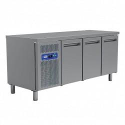 Diamond - Table frigorifique, groupe frigorifique gauche,  3 portes GN 1/1