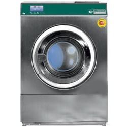 "Diamond - Lave-linge à sceller ""inox"" 18 kg, avec TOUCH SCREEN"