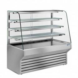 Diamond - Comptoir-vitrine réfrigéré vitre bombée