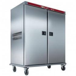 Diamond - Chariot chauffant pour repas, 40 GN 2/1, humidification contrôlée