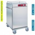 Diamond - Chariot de maintien à température pour repas, 10 GN 2/1