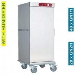 Diamond - Chariot de maintien à température pour repas, 20 GN 2/1