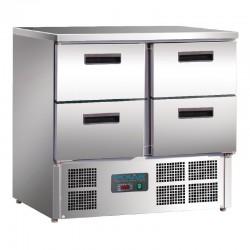 Polar - Table réfrigérée 4 tiroirs