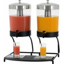 Casselin - Distributeur de jus de fruit double 2 x 8 Litres