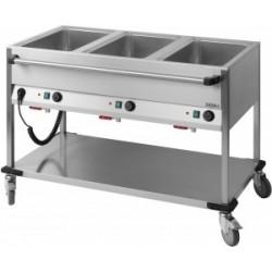 Casselin - Chariot bain marie à eau 2 x GN 1/1