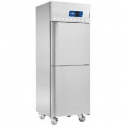 Diamond - Armoire frigorifique et congélation ventilée 2x 350 Lit. 2 portes GN 2/1, sur roues