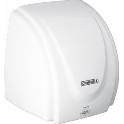 Casselin - Sèche mains en ABS blanc