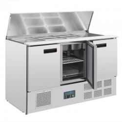 Polar - Comptoir réfrigéré à salades 368 litres