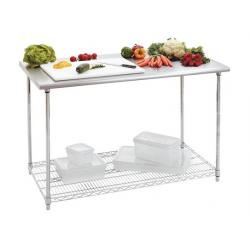 Bartscher - Table de travail inox 1200 x 600 mm