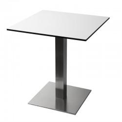 Bolero - Pied de table carré inox