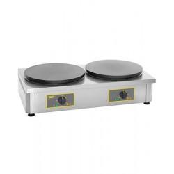 Crêpière professionnelle électrique double – 2 x Ø400 mm Rollergrill