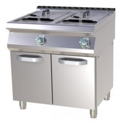 Friteuse gaz professionnelle 2 bacs de 15 litres - RM Gastro
