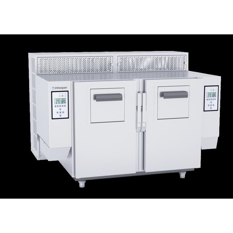 Friteuse Automatique sans vapeur de 2 x 9 litres - inhospan