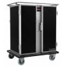 Chariot double de maintien en température +90°C 2 x 14 niveaux - Scanbox