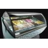 Vitrine à crèmes glacées 12 bacs de 1193 mm avec groupe semi-hermétique tropicalisée - FB Style