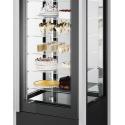 Vitrine panoramique à chocolat positive Cristal Tower - ISA
