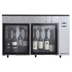 Distributeur à vin au verre 8 bouteilles - Le Shopping du chef