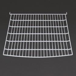Polar - Lot de 1 grille et 4 clips pour vitrine incurvée Polar 235 litres