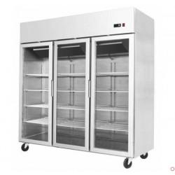 Armoire réfrigérée positive 3 portes vitrées 1390 litres - YCF9403