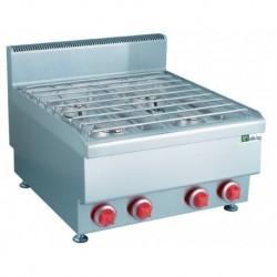 Feux vifs gaz - 4 zones de cuisson - Top 650 - JUS-TR-4