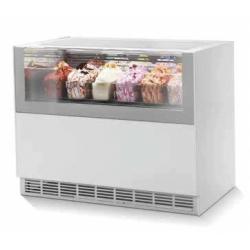 Vitrine à crème glacée 10 bacs ONE SHOW FREE ISA