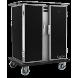 Chariot de maintien en température mixte 14 niveaux - Scanbox