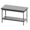 Table centrale démontable 1200 x 400 mm - Sofinor
