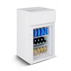 Petit réfrigérateur avec porte en verre 50Ltr - Combisteel