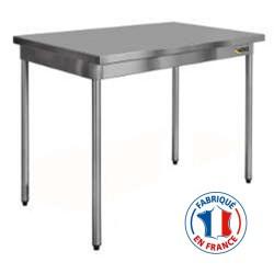 Table inox 600 x 600 mm - Sofinor