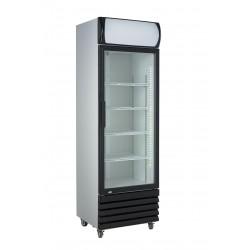 Réfrigérateur avec 1 portes en verres 360Ltr - Combisteel