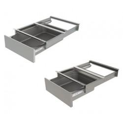 Tiroir pour table inox Sofinor 600 mm