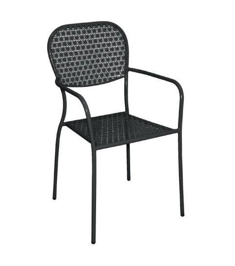 Chaises en acier
