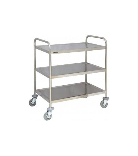 Achat / Vente chariot inox pour les cuisines de restaurant